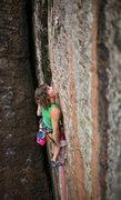 Rock Climbing Photo: crush the skull