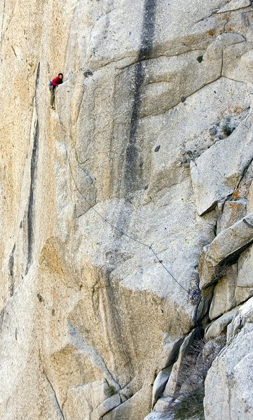 Rock Climbing Photo: golden eye