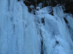 Rock Climbing Photo: Buttermilk Falls, Catskills NY  Pitch.... 3?  Mayb...