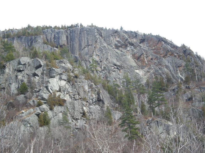 Upper Washbowl Cliff (Detail)