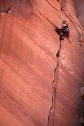 Rock Climbing Photo: Sarah Selling onsights Soul Fire.