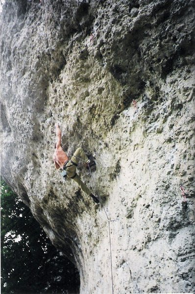 Great climbing in the Frankenjura!