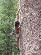 Rock Climbing Photo: Tobin, 12a at a local crag