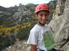 Rock Climbing Photo: Nothing like enjoying a day out with your kid!