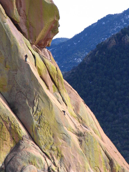 Rock Climbing Photo: looking across from moby dick