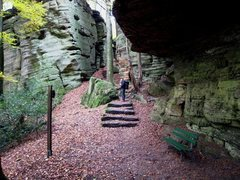 Rock Climbing Photo: Berdorf has great, scenic hiking trails.