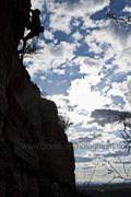 Rock Climbing Photo: Kevin on Massive Head Wound Harry, a 5.10d on the ...