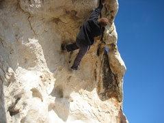 Rock Climbing Photo: sketchy choss