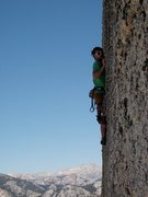 Rock Climbing Photo: another steep knobby climb on cottage dome