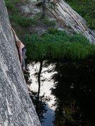 Rock Climbing Photo: Scott starting the traverse