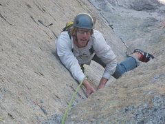 Rock Climbing Photo: Yet another shot of THE corner up on Oz.  Scott is...