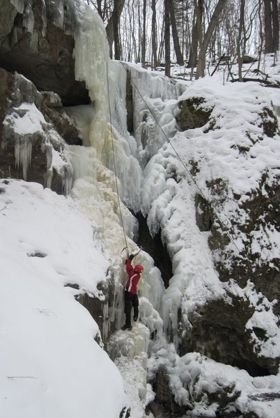The main falls in thin conditions for February