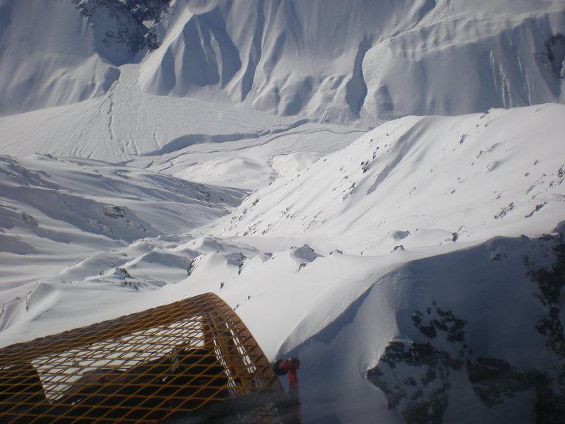 Rock Climbing Photo: Heli skiing