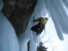 Rock Climbing Photo: Curtins Climb picture off Michigans Ice Fest's Fac...