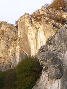 Rock Climbing Photo: The steep profile of Les Cinq Ânes just past La T...