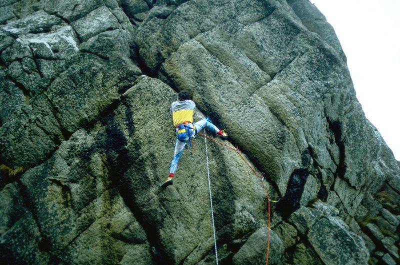 Rock Climbing Photo: Blood Crystal, Knight Templar Rock