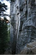 Rock Climbing Photo: surrealistic pillar direct