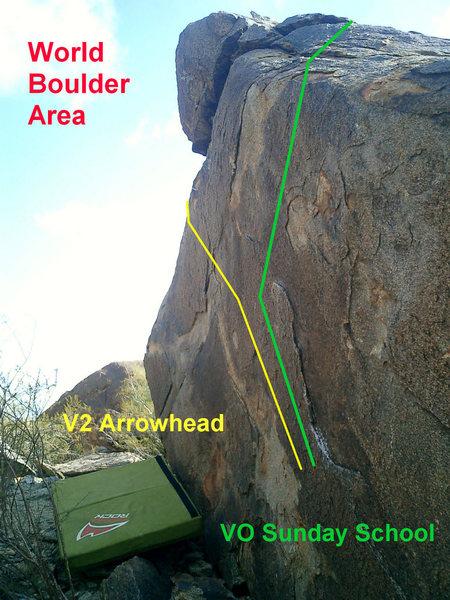 Rock Climbing Photo: Arrowhead