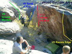 Rock Climbing Photo: World Boulder Area