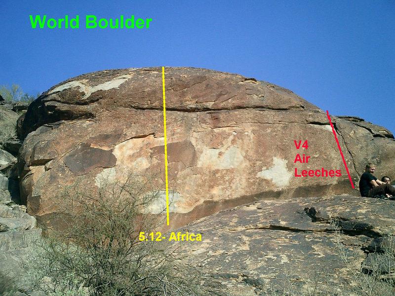 Rock Climbing Photo: World Boulder