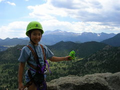 Rock Climbing Photo: Funny.