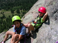 Rock Climbing Photo: Chilling.