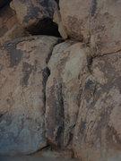 Rock Climbing Photo: Close up of The Trough.