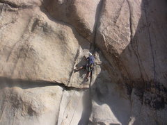 Rock Climbing Photo: Lluis demonstrates, quite correctly, how not to wa...