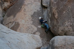 Rock Climbing Photo: Nathan on Nurn's Romp 5.8 - Hall of Horrors 2-13-1...