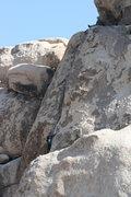 Rock Climbing Photo: Dan belaying Bennet on Nurn's Romp 5.8 - Hall of H...