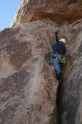 Rock Climbing Photo: Nathan on Flash Gordon 5.7 - Hall of Horrors 2-13-...