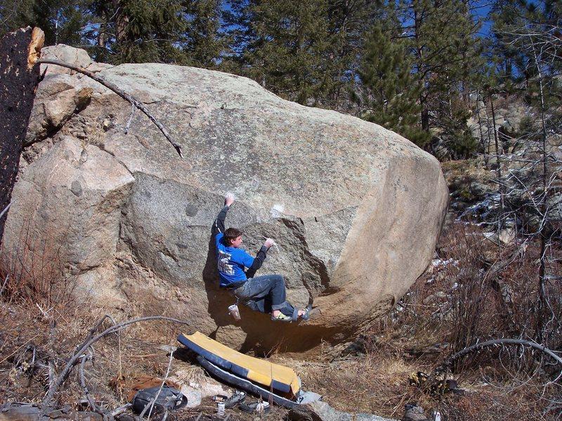 Rock Climbing Photo: MZ.