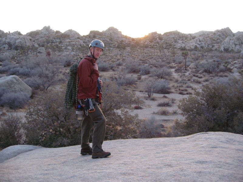 Rock Climbing Photo: JT can get wintry as hell.  Trip with DL Dec. 2009...