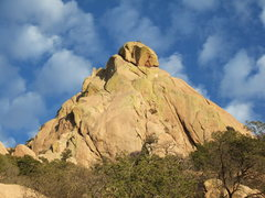 Rock Climbing Photo: Westworld Dome & trippy clouds - January 9th, 2010...