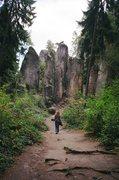 Rock Climbing Photo: beautiful little spires...