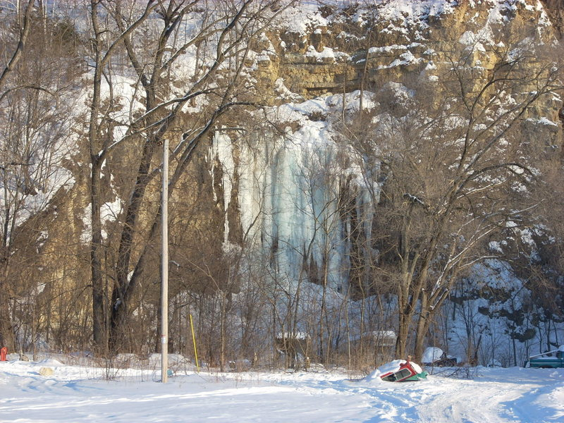Rock Climbing Photo: Quarry Monster on 2/13/10
