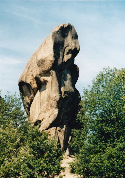 one of the rocks at Przadki