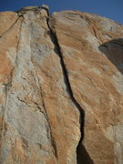 Rock Climbing Photo: Craig's Crack - Mission Gorge