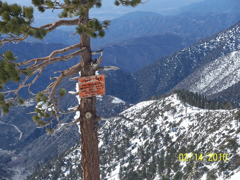 Rock Climbing Photo: Thunder Ridge