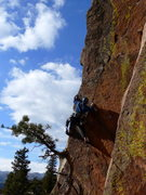 Rock Climbing Photo: Zack gettin' after it on Pony Express.