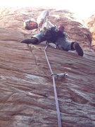 Rock Climbing Photo: Geir on the FA of Javelina Hardman