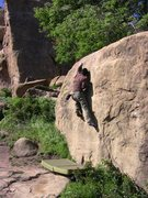 Rock Climbing Photo: Scott Nomi on Scorpion.