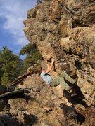 Rock Climbing Photo: mid problem pinch