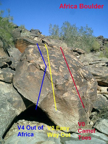 Rock Climbing Photo: Africa Boulder.
