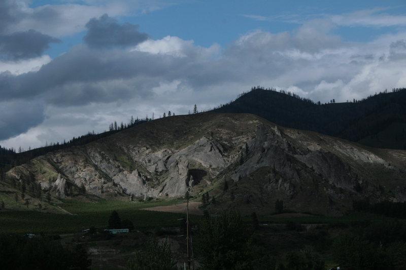 Rock Climbing Photo: Peshastan Pinnacles