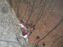 "Rock Climbing Photo: The ""easy"" crag? at Seonunsan."