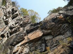 Rock Climbing Photo: There is a falls. . . come after a rain and you'll...