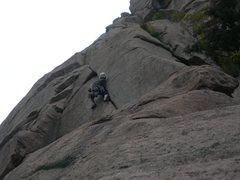 Rock Climbing Photo: Goran on A2O.