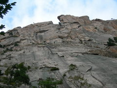 Rock Climbing Photo: The SW face of The General.