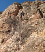 Rock Climbing Photo: Needle Haven, near the end of the easier start.